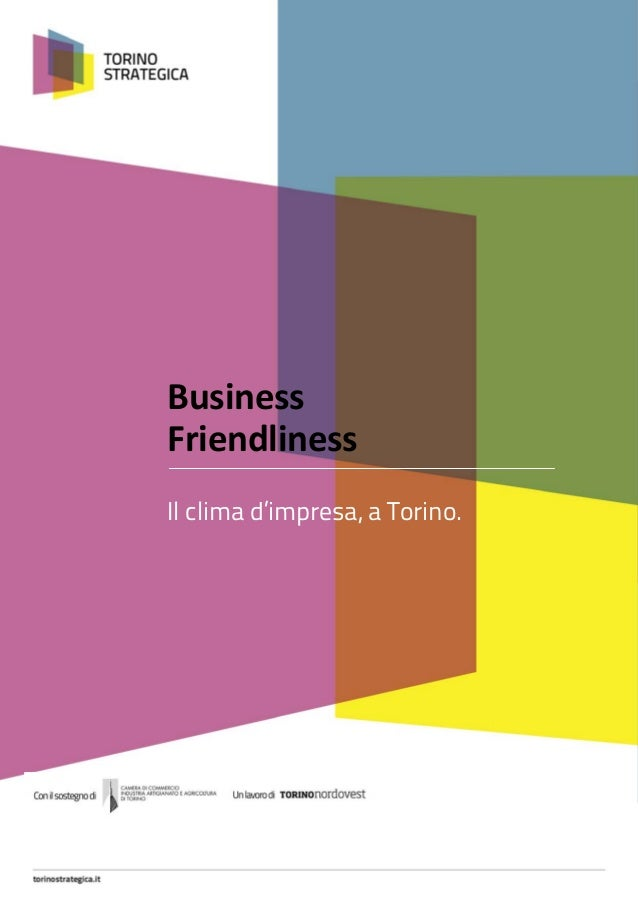 Business friendliness a Torino