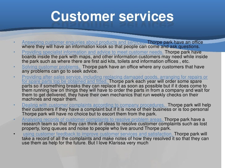 customer service thorpe park How to complain about thorpe park customer service resolver is a completely free complaint-resolution tool that puts the british consumer directly in touch with the customer service providers who can resolve their complaint.