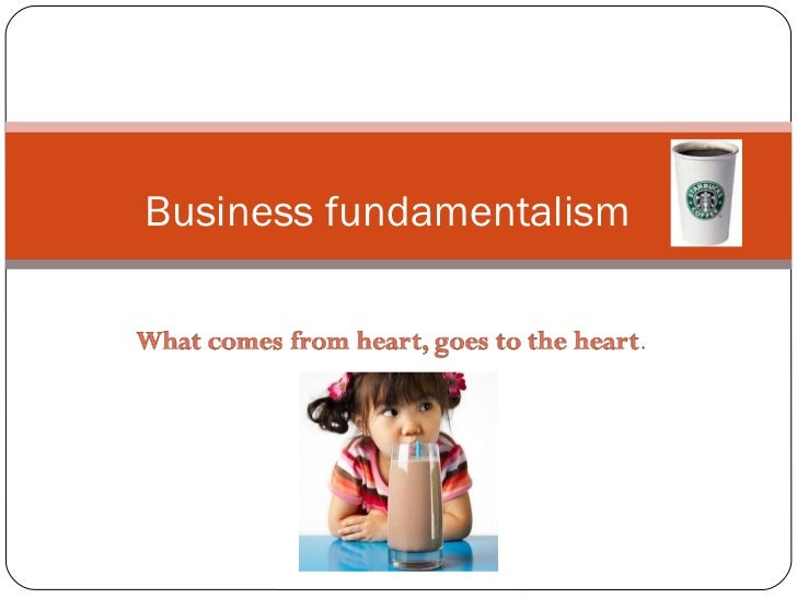 Business fundamentalism