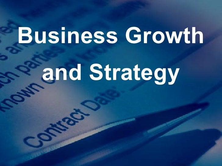strategic planning business expansion