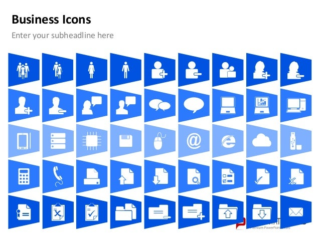 Infographic icons for powerpoint free