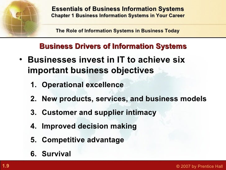 achieving competitive advantage with information system