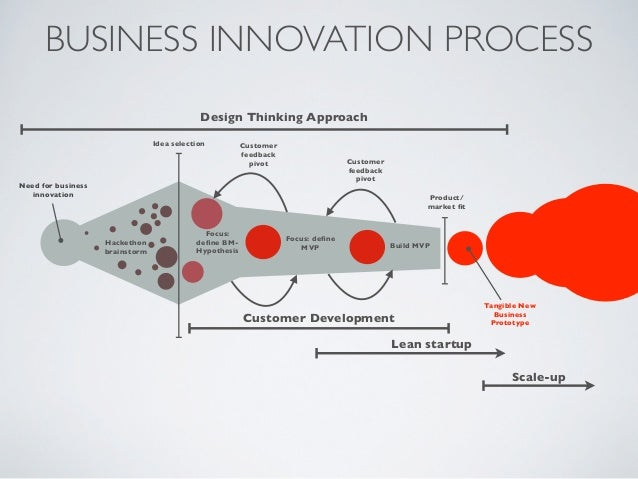 BUSINESS INNOVATION PROCESS                                             Design Thinking Approach                          ...