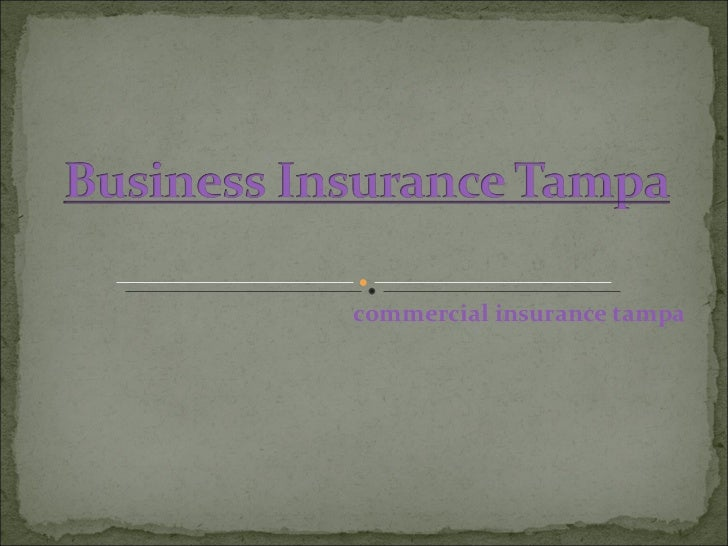 commercial insurance tampa