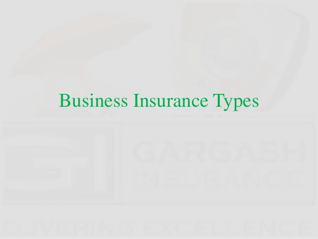 Business Insurance Types