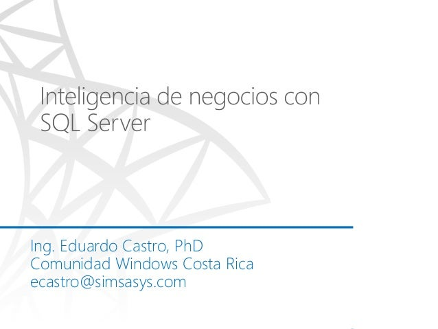 Business Intelligence con Sql Server 2014