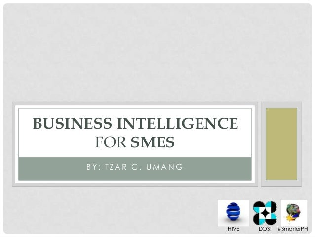 Business intelligence for SMEs with Data Analytics
