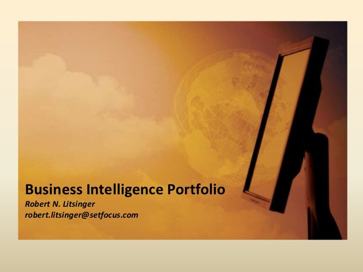 Business Intelligence Portfolio