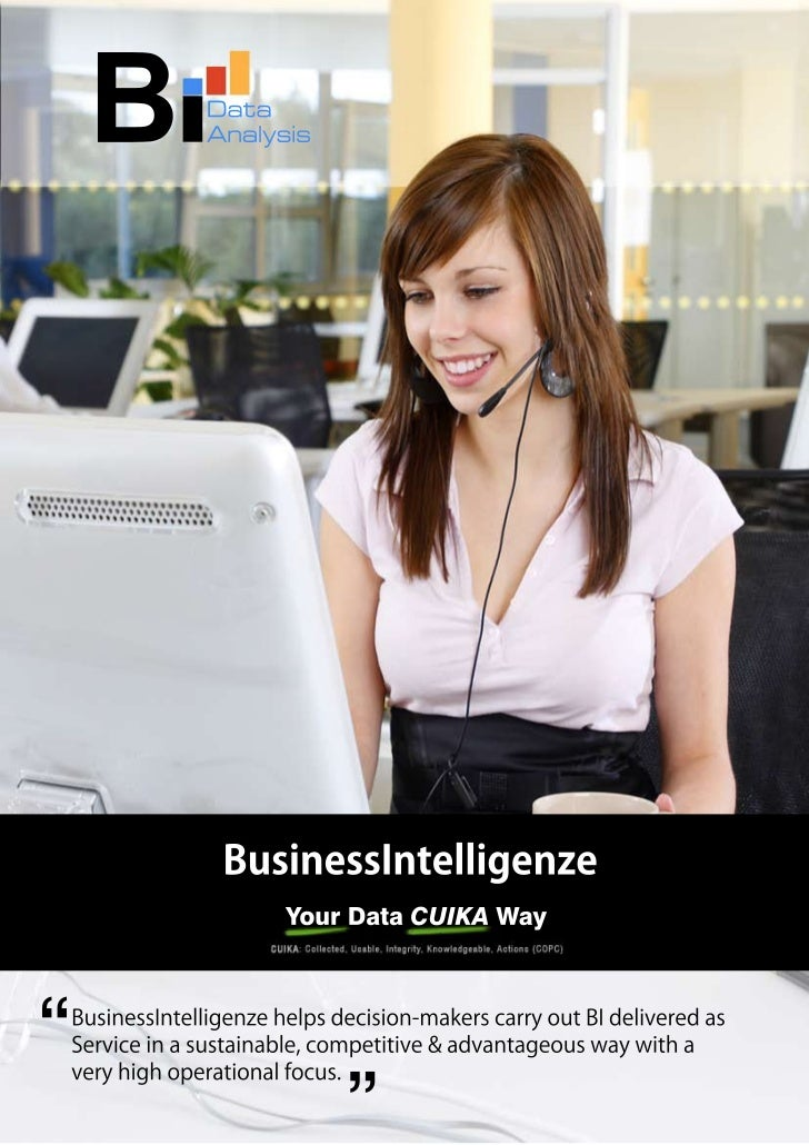 Company Profile - BusinessIntelligenze