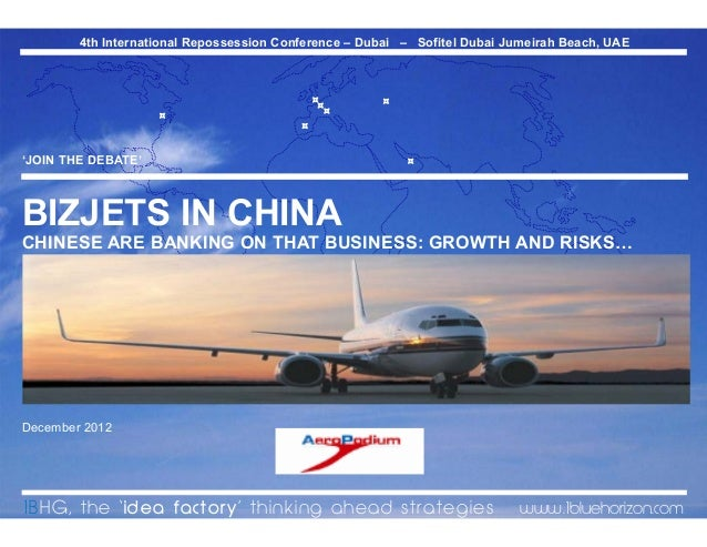 Business Jets in China, Growth & Risks