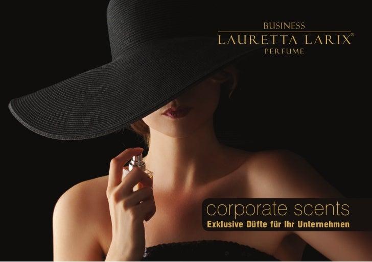 corporate scentsExklusive Düfte für Ihr Unternehmen