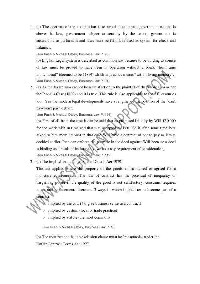 aspects of contract and business law essays The legal implications stemming the legal implications of a contract vary based on if you enter one of these contracts, put it in writing and make sure the.