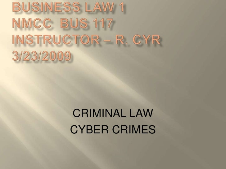 Business Law Chater 6