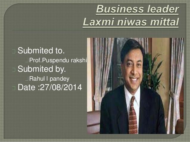 Laxmi mittal success story in hindi