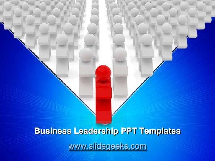 business leadership ppt templates