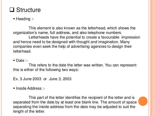Communication Skill Business Letter