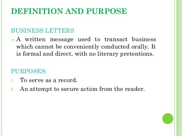 letter application definition