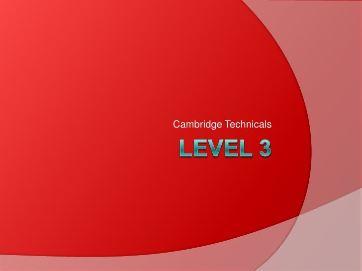 Business level 3 2012
