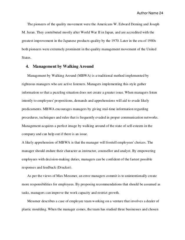 Dissertation Proposal Employee Retention