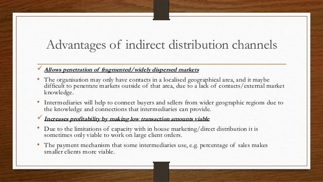 direct and indirect marketing distribution channels Apple distribution - download as word direct or semi-direct sales and different distribution channels for channels of distribution are indirect marketing.