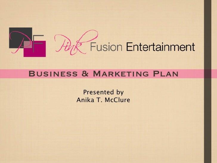 Pink Fusion Entertainment