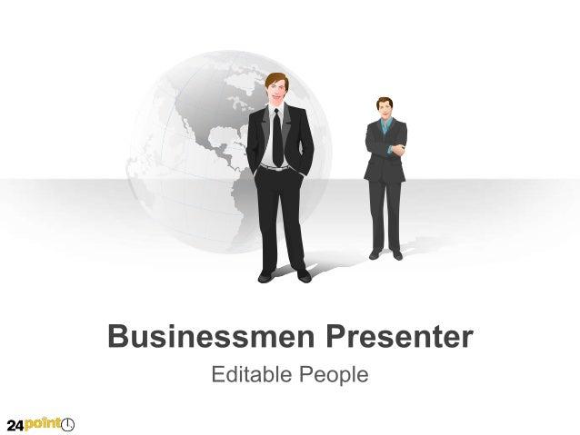 Businessmen Presenter