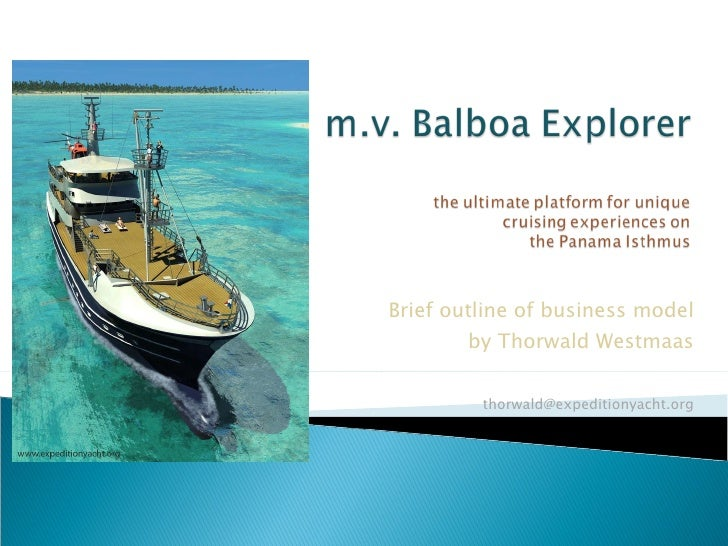 Business Model Balboa Explorer