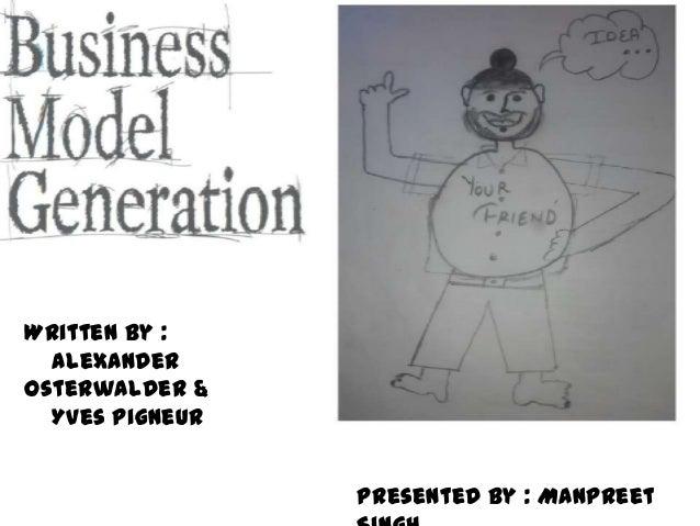 Business model generation canvas By Manpreet singh digital