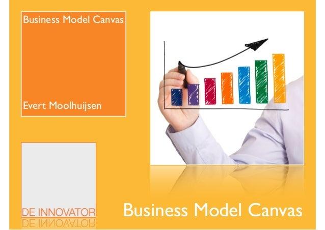 Business Model Canvas Business Model Canvas  ! ! ! ! ! ! Evert Moolhuijsen