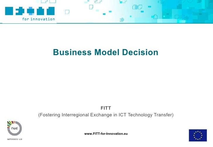 Business Model Decision Final