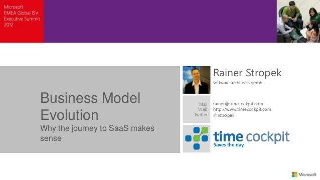 Rainer Stropek                                          software architects gmbhBusiness Model                    Mail    ...