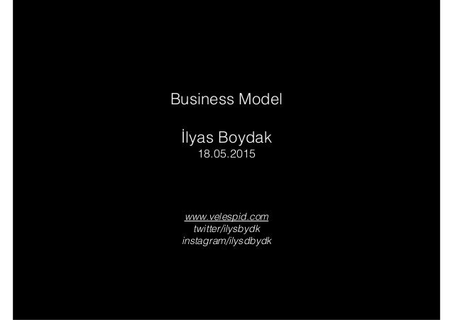 Business Model Ilyas