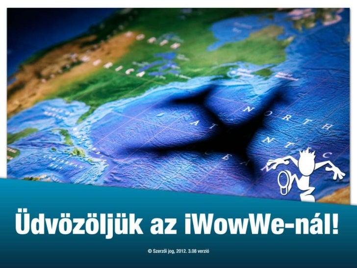 iWowWe Business Model in Hungarian