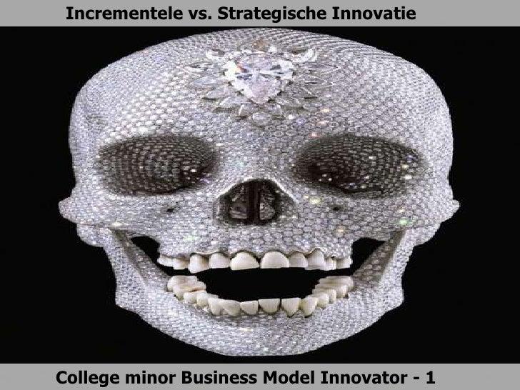 Incrementele vs. Strategische InnovatieCollege minor Business Model Innovator - 1