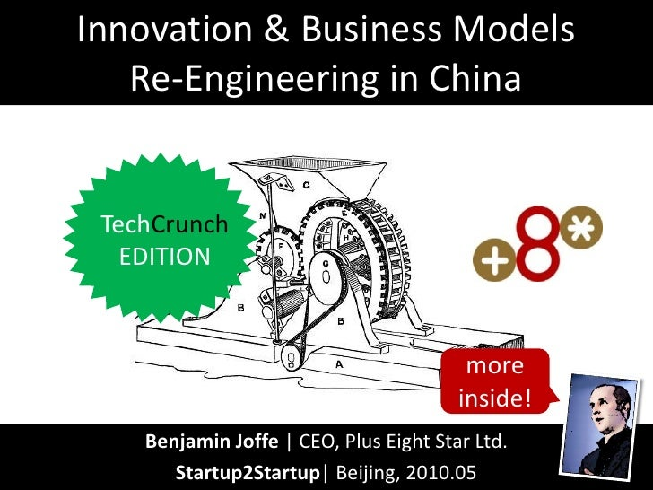 Business models Reengineering in China