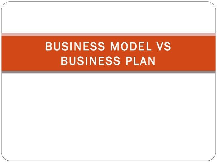 Business planning model
