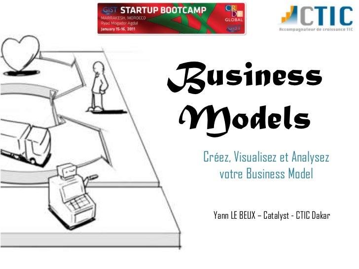 BusinessModels Créez, Visualisez et Analysez    votre Business Model   Yann LE BEUX – Catalyst - CTIC Dakar