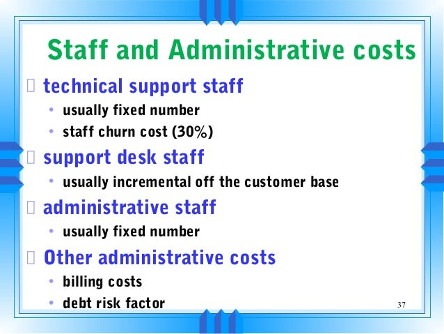 Technical support business plan