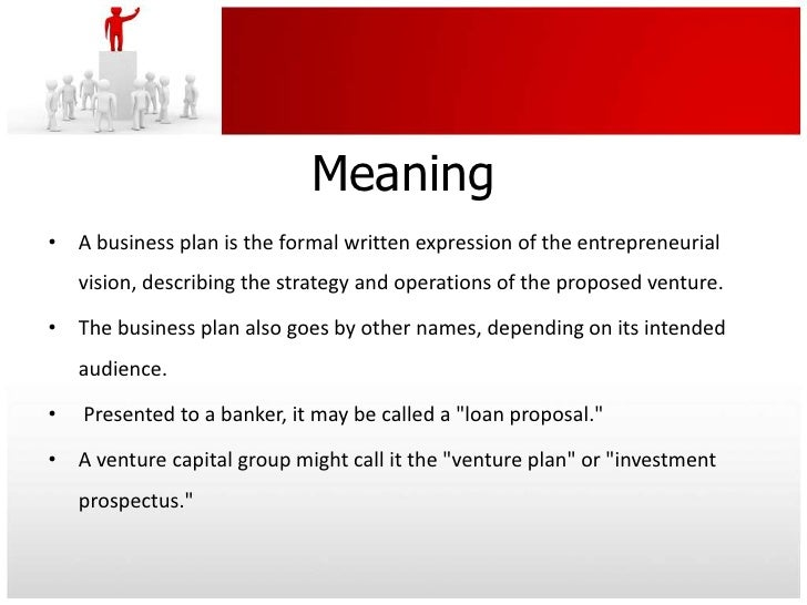 a business plan definition