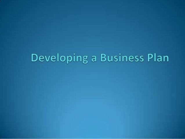 Business plan for entrepreneur