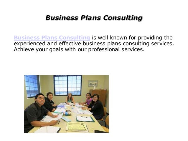 Consulting Business Business Plans Consulting