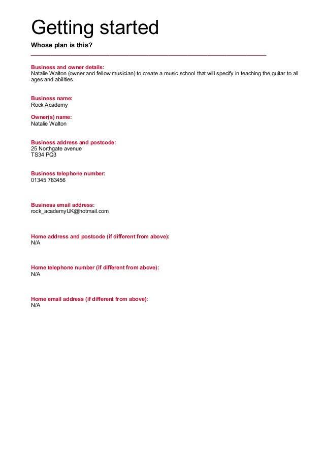 exit strategy business plan pdf