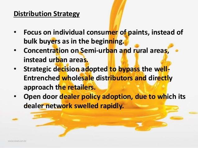 paint distribution business plan
