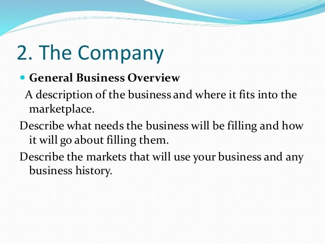 Investor business plan