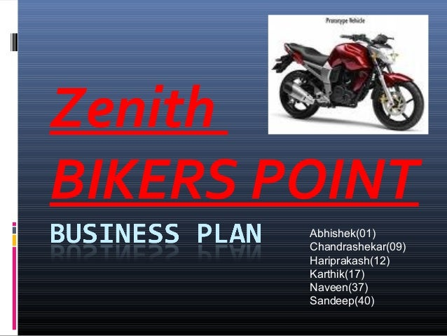 Business plan  bikes point