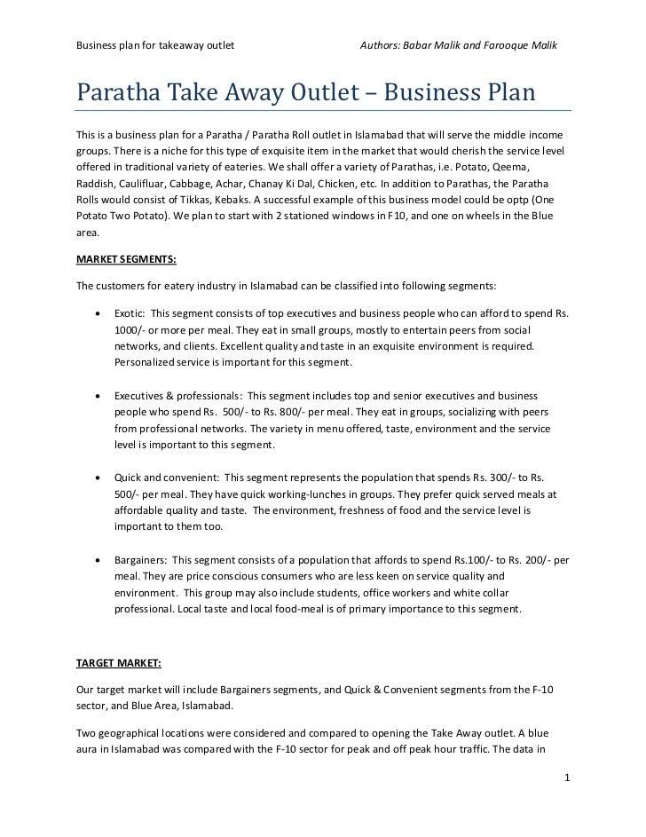 Simple Restaurant Business Plan Simple Restaurant Business Plan - Simple restaurant business plan template