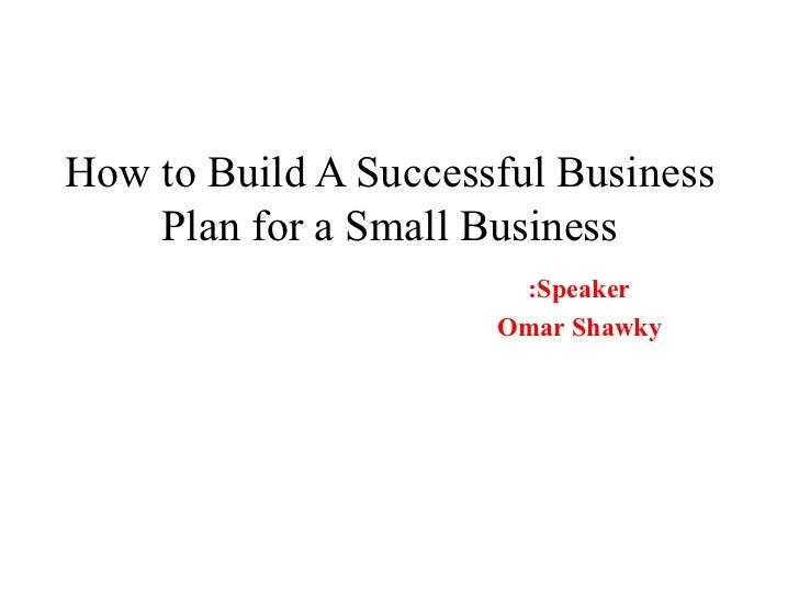 ebda2, Business plan - Omar Shawky