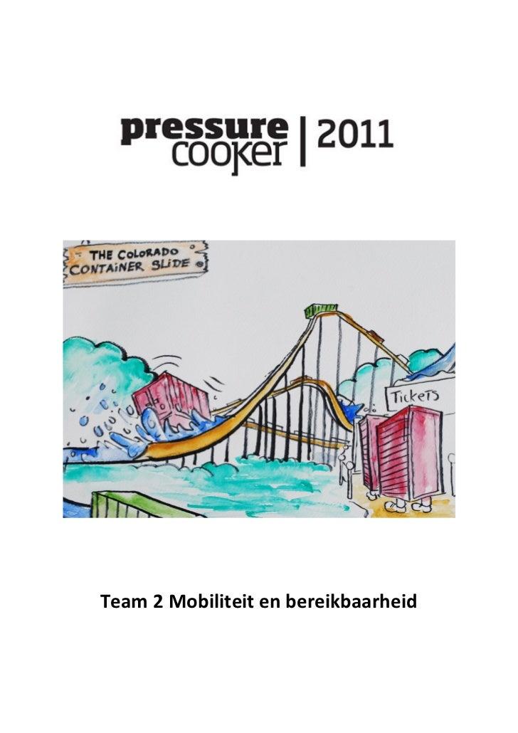 Team 2 Mobiliteit en bereikbaarheid