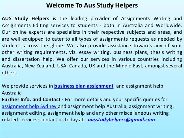Homework help business plan
