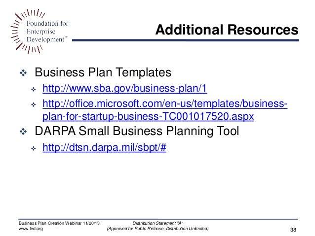 Business.gov.au business plan
